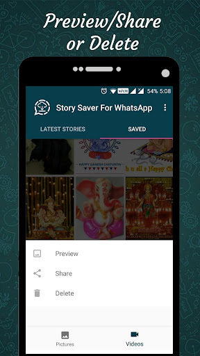 Status Saver for Whatsapp : Save Stories Images 1.12 screenshots 6