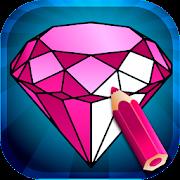 Magic Diamond Coloring