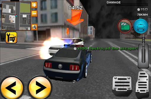 ストリートレーサーVS警察車