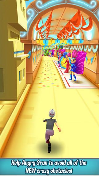 Angry Gran Run - Running Game - screenshot