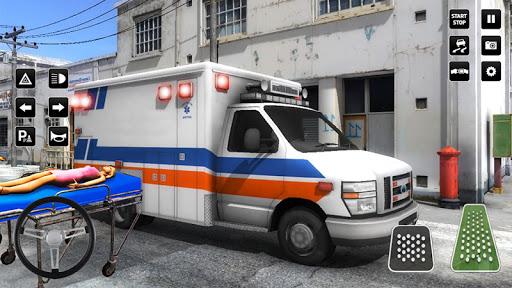 Heli Ambulance Simulator 2020: 3D Flying car games 1.12 screenshots 1