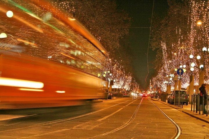 Natale il tram arriva e se ne va di spelafili