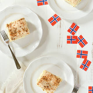 Norway's National Cake for Syttende Mai.