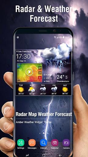رادار الطقس & الطقس العالمي screenshot