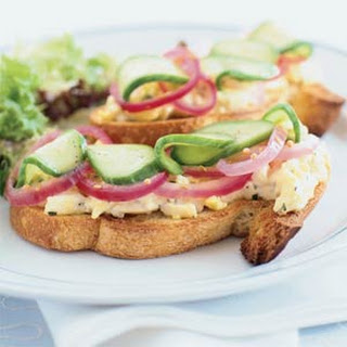 Sumptuous Egg Salad Sandwiches.