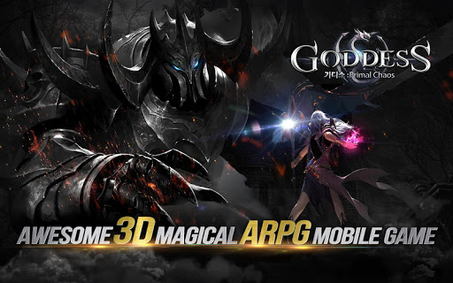 Goddess: Primal Chaos – Arab Free 3D Action MMORPG poster
