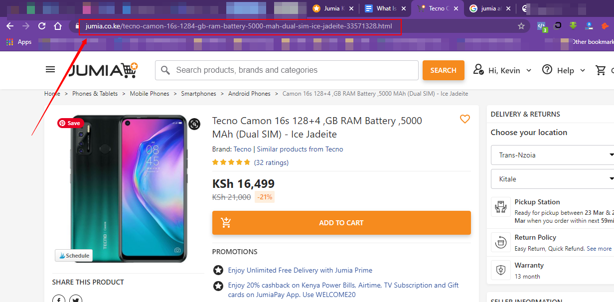 how to promote a product through jumia affiliate in Kenya