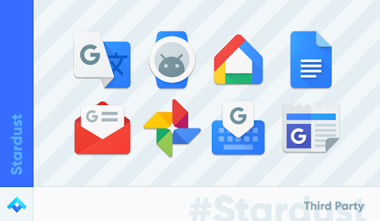 Stardust - Icon Pack Screenshot