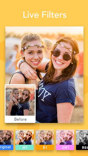 Face Filter, Selfie Editor - Sweet Camera  screenshots 5