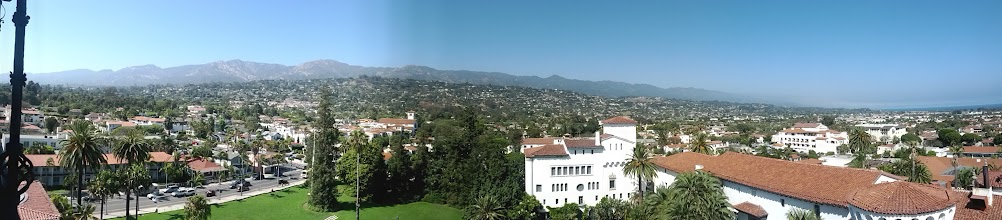 Photo: Panoramic view from the Courthouse observation tower