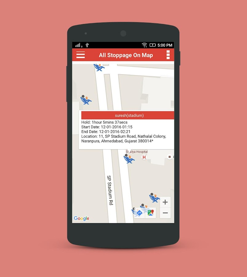 GPS Vehicle Tracking System- screenshot