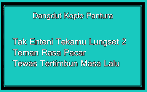 Dangdut Koplo Pantura - náhled
