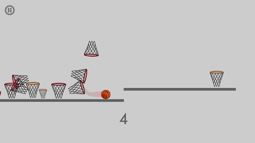 Stubborn basketball