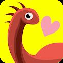 플레이콕콕 - 공룡 친구들과 함께하는 한글공부 (어린이한글, 공룡 색칠놀이) icon
