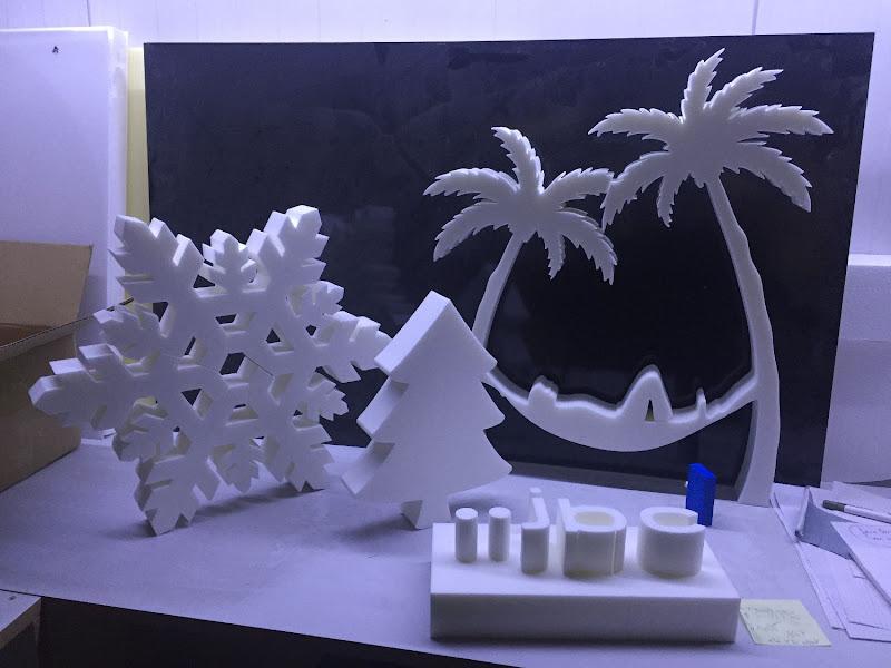 3D letters & logo's uit EPS en XPS