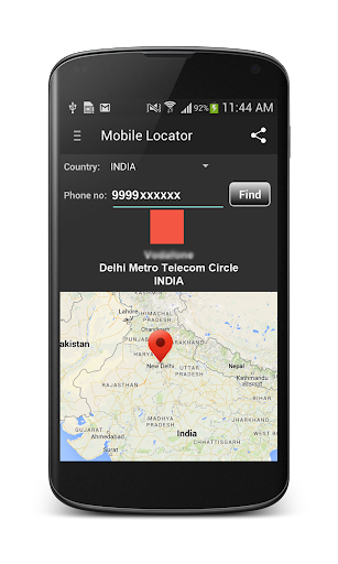 Phone Number Locator  screenshots 4