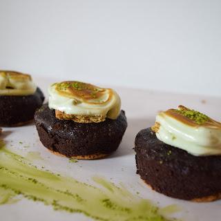 Matcha S'more Brownies