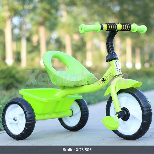 Xe đạp 3 bánh cho bé có chuông