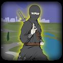 Ninja traço Ir Jogos icon