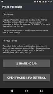 Phone Info Dialer *#*#4636#*#* Apk Download Latest Version 1