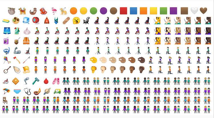 Nuevos Emojis en Android Q