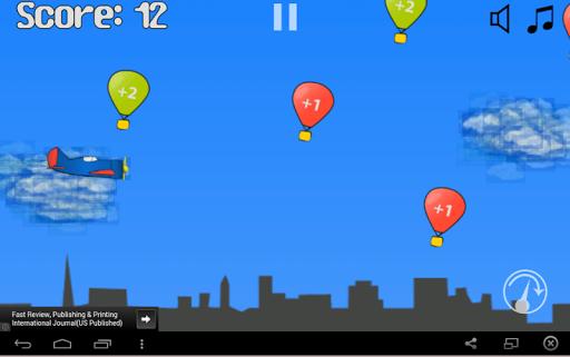 Balloon Flying Defense