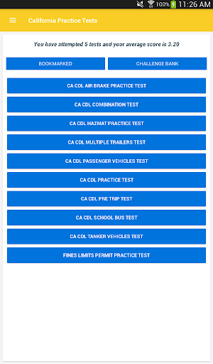 CDL Practice Test 2019 App Report on Mobile Action - App