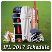 Schedule for IPL 2017 Live