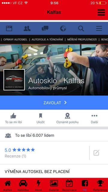 Autocentrum Kalfas- screenshot