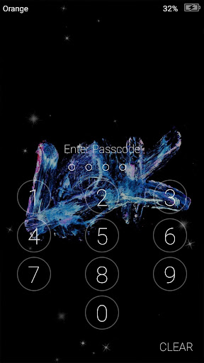 Super AMOLED Live Wallpapers Lock Screen