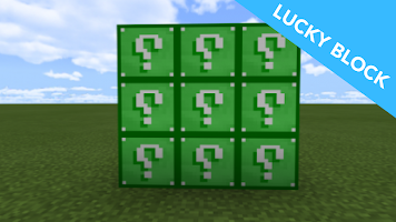 Lucky Block MOD for MCPE and Lucky Race Map