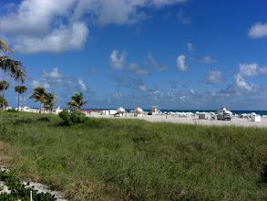 Photo: Miami Beach - South Beach, along the beach
