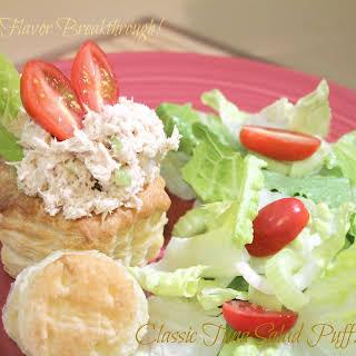 Classic Tuna Salad Puff!.