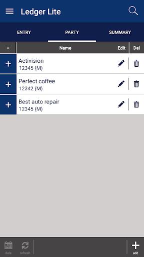Pocket Ledger 1.6.1 screenshots 1