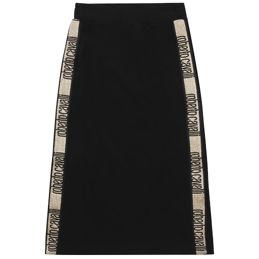 Primary image of Roberto Cavalli Cotton Maxi Skirt