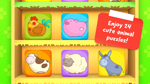 Animal Puzzle - Game for toddlers and children - screenshot