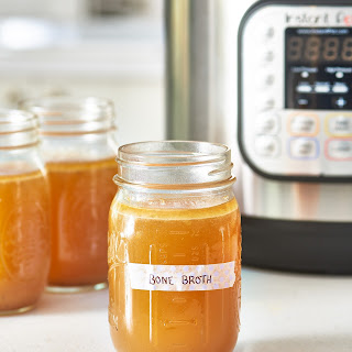 How To Make Chicken or Beef Bone Broth in the Instant Pot.