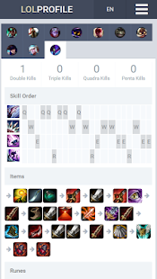 LoLProfile League of Legends- screenshot thumbnail