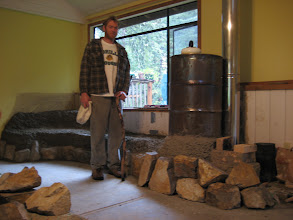 Photo: Ernie and the Rocket Stove