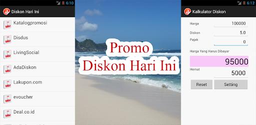 Promo diskon hari ini apps on google play