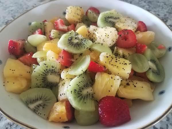 Poppy Seed Fruit Salad Recipe