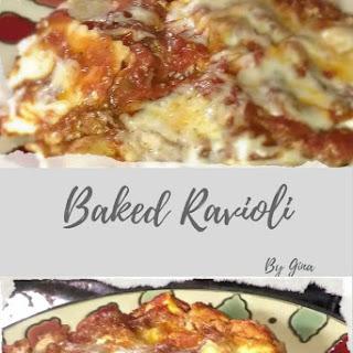 Baked Ravioli Recipe