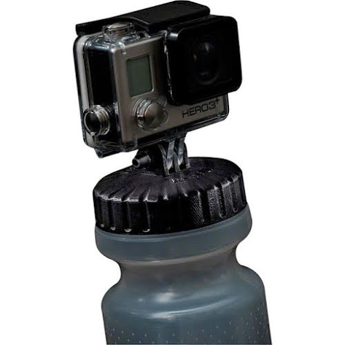 BarFly GoPro Bottle Top Mount Nalgene, Red