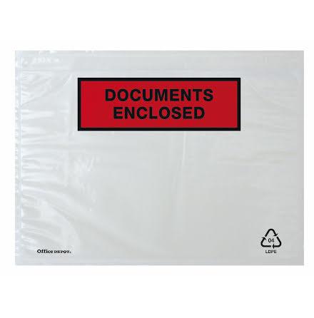 Packsedelskuvert C6    1000/fp