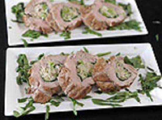 Crab Stuffed Pork Tenderloin Recipe