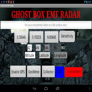 Ghost Box EMF Radar 1 2 Apk, Free Tools Application