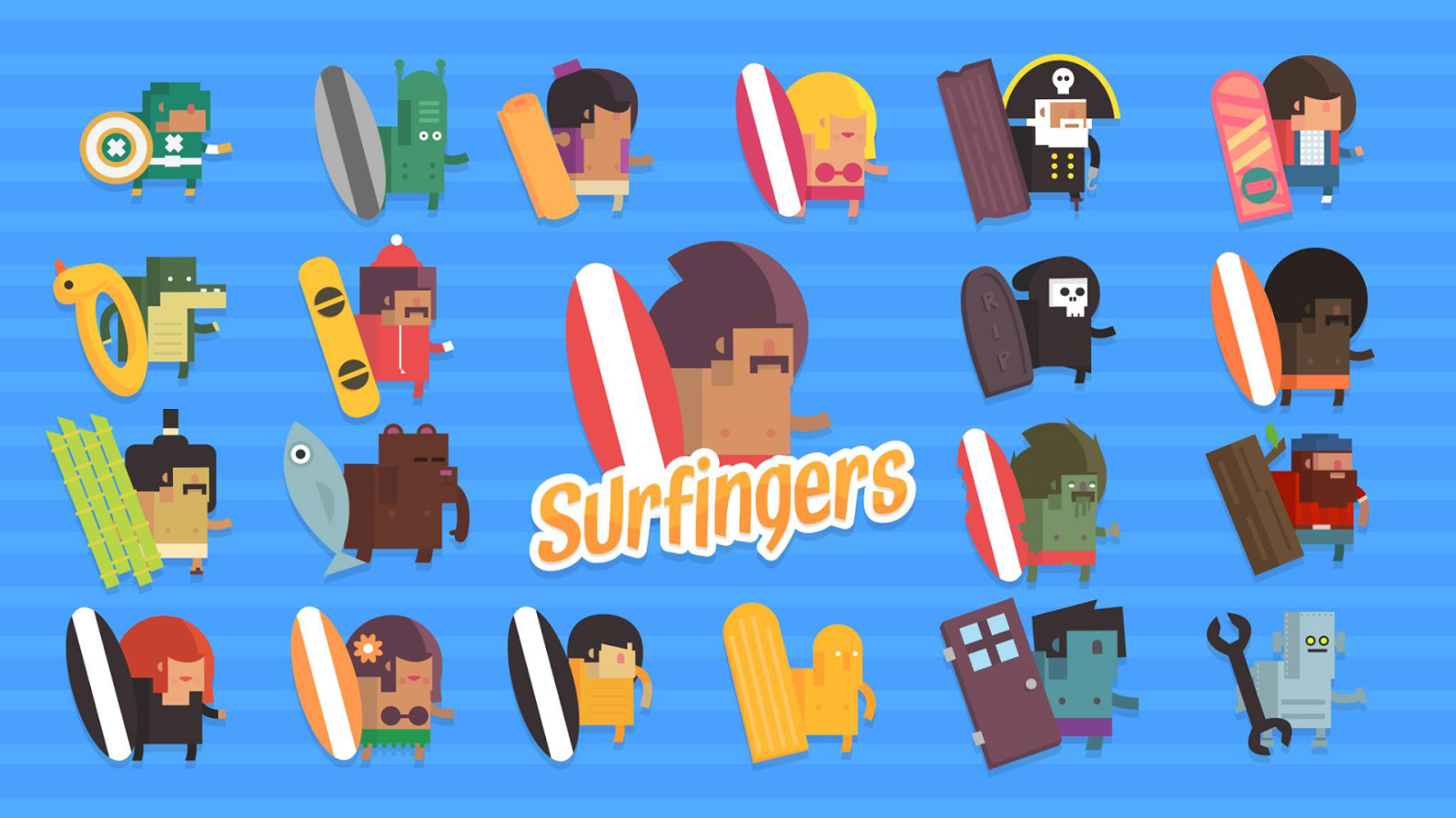 Surfingers- screenshot