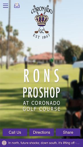 Ron's Pro Shop Coronado Golf