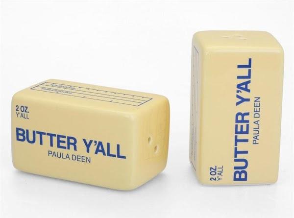 Salt & pepper to taste again. (we like salt & pepper) Add the butter...