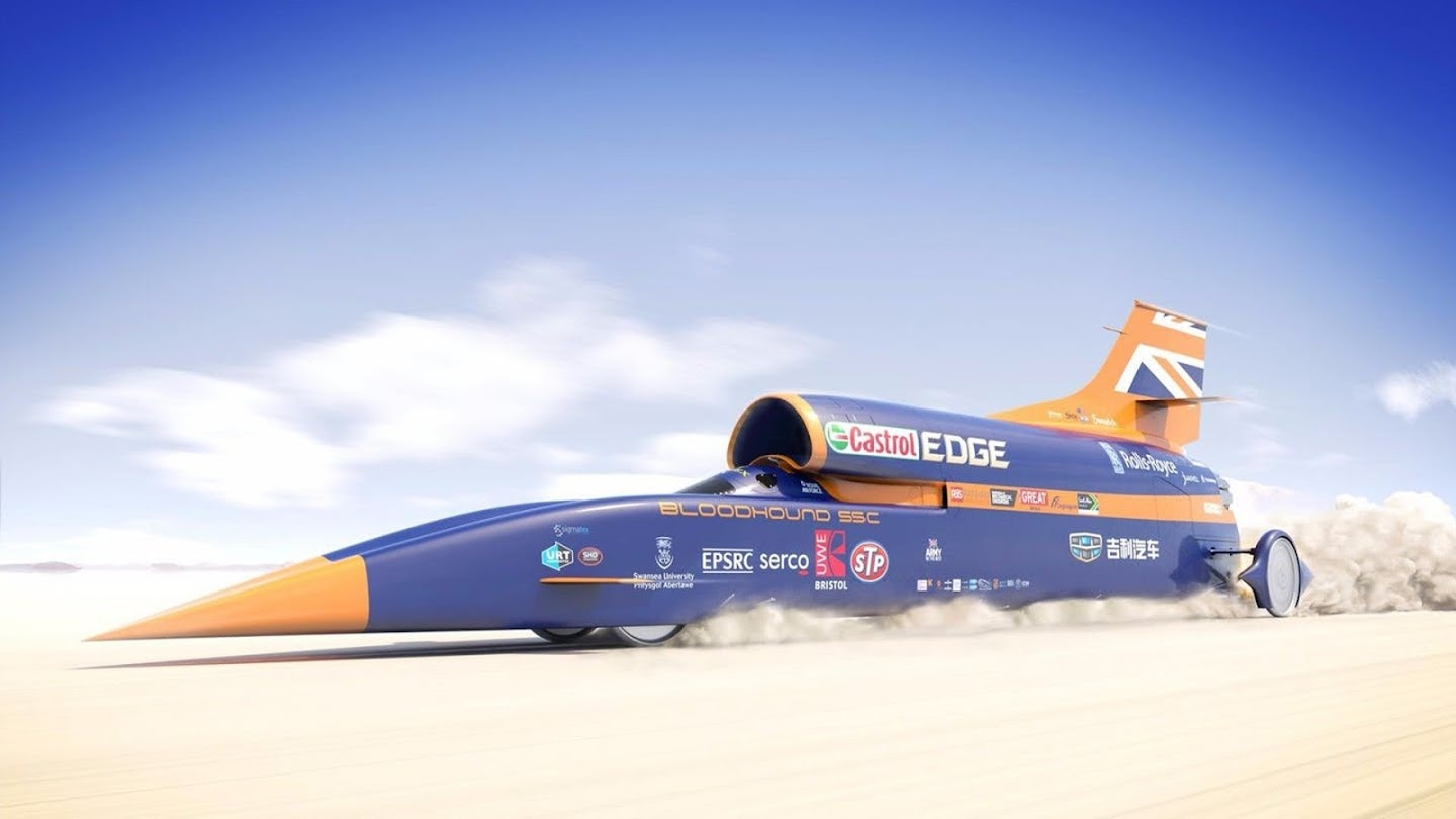 Watch Bloodhound: Chasing the Land Speed Record live